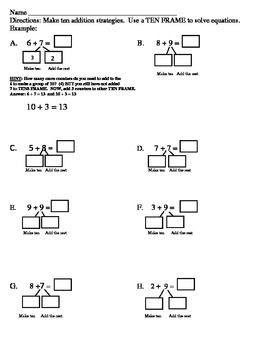 Making TEN to solve equations