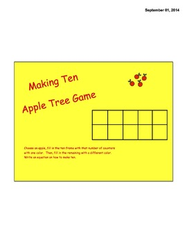 Making Ten Apple Tree