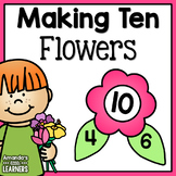 Number Bond Game - Flowers