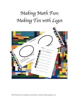 Making Ten Lego Math Activity Center