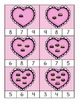 Making Ten with Valentine Candy Box Clip-its