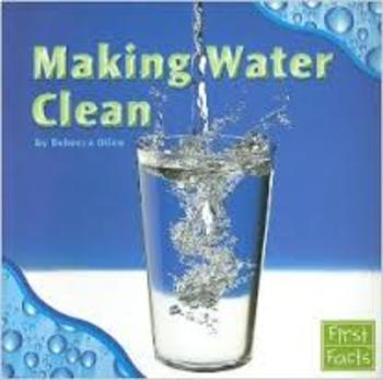 Making Water Clean comprehension packet