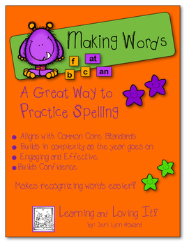 """""""Making Words"""" - Building Words With Phonetic Spelling Patterns"""