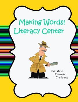 Making Words Center