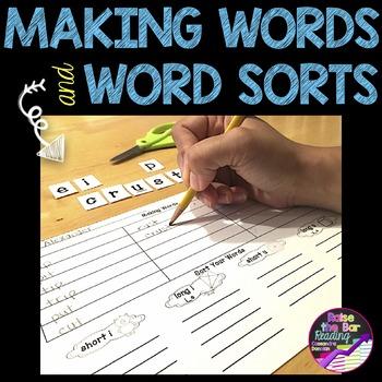Making Words & Word Sorts for Phonics Instruction CVC, CVC