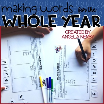 Making Words for the Whole Year