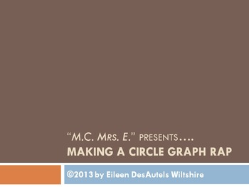 Making a Circle Graph Rap - Video