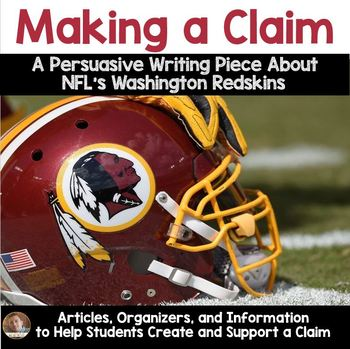 Making a Claim (NFL Redskins Controversy)- articles, organ