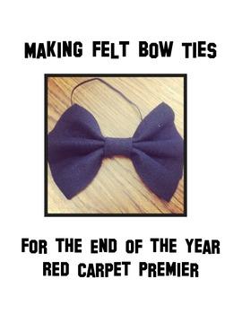 Making a Felt Bow tie