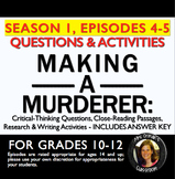 Making a Murderer Episodes 4-5 Critical Thinking Questions