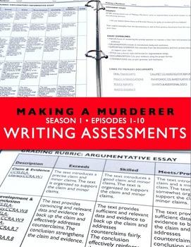 Making a Murderer Writing Assessments