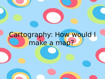 Making a map in art