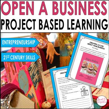 ECONOMICS - ENTREPRENEURSHIP in Grades 3-5 With Technology