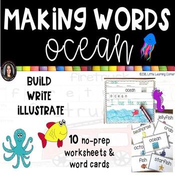 Making words ~ Ocean Theme