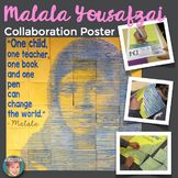 Malala Yousafzai - Collaboration Poster - Great for Women'