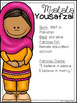 Malala Yousafzai Mini Unit - Reading Passage, Graphic Orga