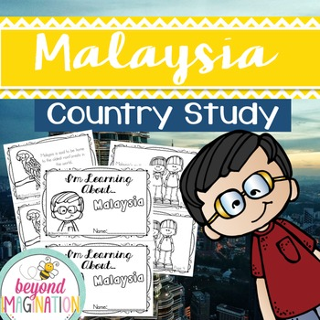 Malaysia Country Study   48 Pages for Differentiated Learn