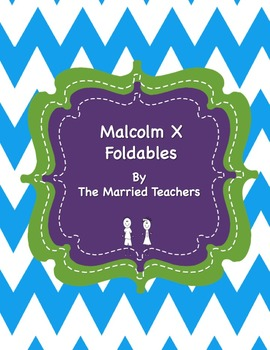 Malcolm X Interactive Historical Figure Foldables