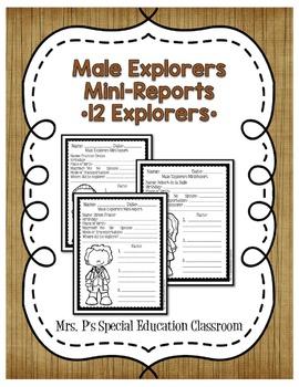 Male Explorers Mini Reports