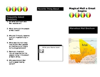 Mali Say What? Brochure SOL 3.2