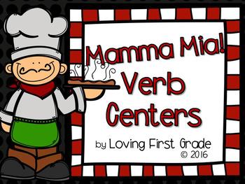 Mamma Mia! Verb Centers