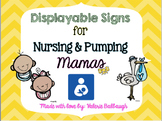 Mama at Work - Signs for Nursing and Pumping Mothers