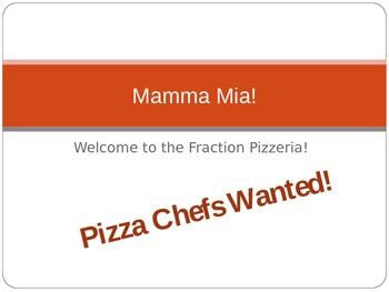 Mamma Mia! Fraction Pizzas