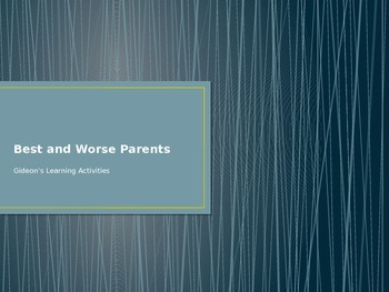 Mammals-Best And Worst Parents