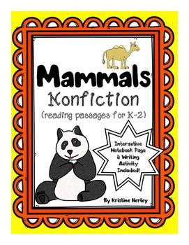 Mammals - Nonfiction Reading Passages