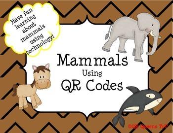 Mammals using QR Codes