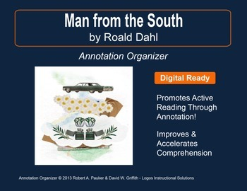 """""""Man from the South"""" by Roald Dahl: Annotation Organizer"""