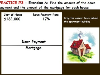 Managing a household - Computing the Down Payment; Real wo