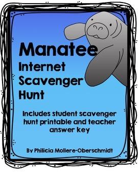 Manatee Internet Scavenger Hunt