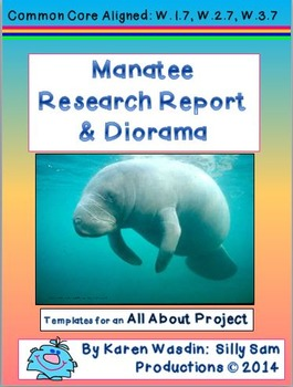 All About Manatee Research Report & Diorama Project Common