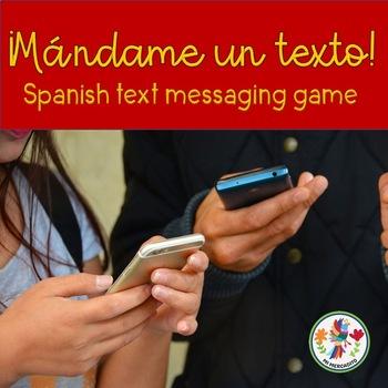 Mándame un Texto Spanish Text Messaging Game