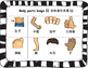 Mandarin Chinese body parts Bingo game set II 身体部位宾果游戏 II