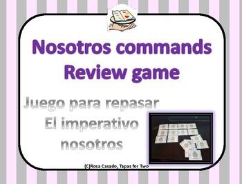 Mandatos Commands ~ Nosotros commands review game