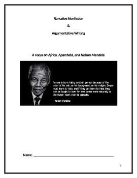 Mandela Genre Study- Informational Text Comparison