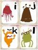 Alphabet monstre (alphabet cards and activities)