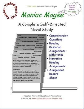 Maniac Magee: A Complete Novel Study