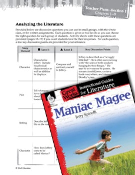 Maniac Magee Leveled Comprehension Questions
