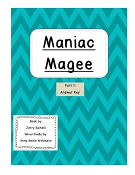 Maniac Magee Part II Answer Key