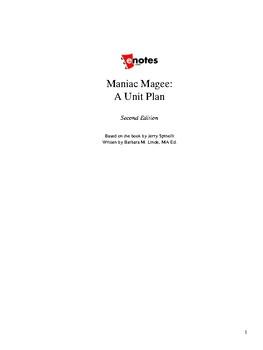 Maniac Magee Unit Lesson plan