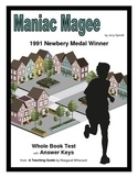 Maniac Magee      Whole Book Test