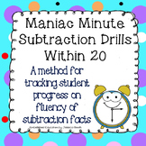 Subtraction Drills