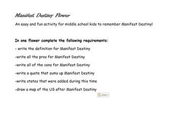 Manifest Destiny Flower