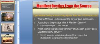 Manifest Destiny Intro PowerPoint