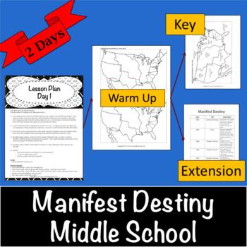 Manifest Destiny Learning Stations