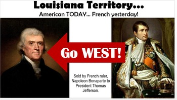 Manifest Destiny - Louisiana Purchase, New Orleans Worksheets