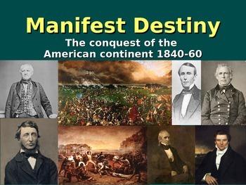 Manifest Destiny PPT (1840-60)